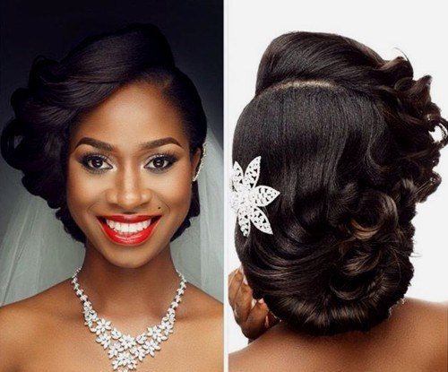 90 Wedding Hairstyles for Black Brides to Feel Special [2019]