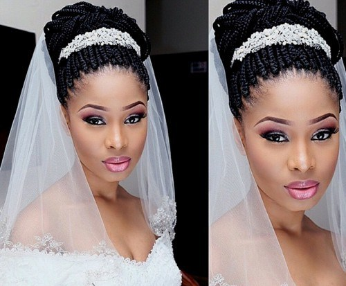 90 Wedding Hairstyles For Black Brides To Feel Special 2019