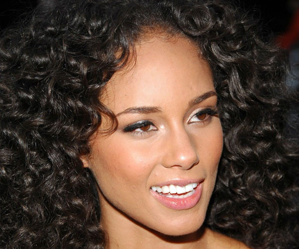 Thick curly weave haircut for girl