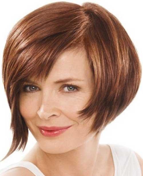 medium bob haircuts for 45 years women