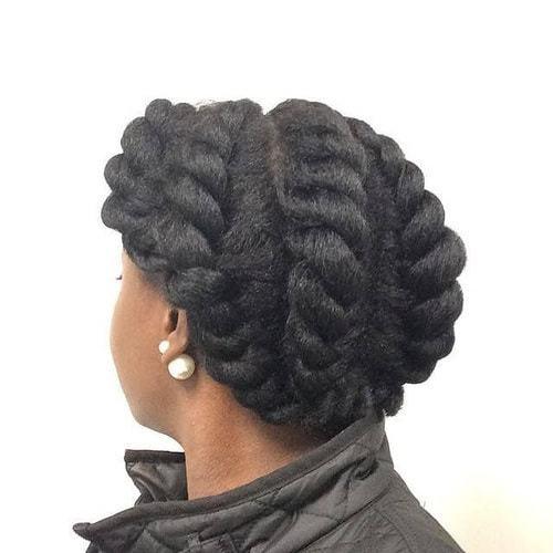 french braid haircut for black women