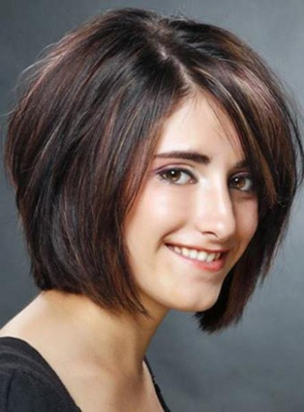 short layered bob hairstyle for women