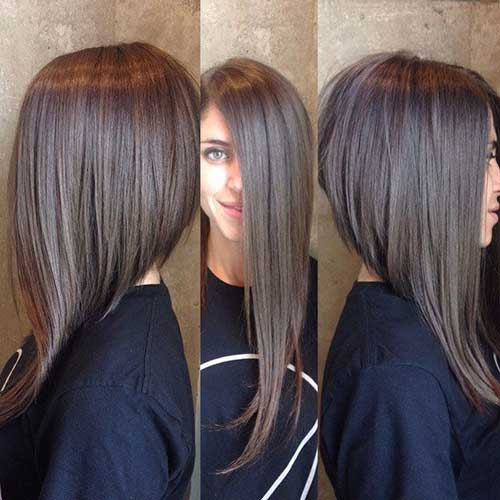 25 Best Long Angled Bob Hairstyles We Love – HairstyleCamp
