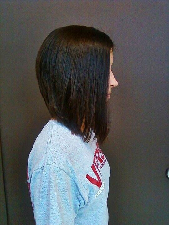 25 Best Long Angled Bob Hairstyles We Love Hairstylecamp