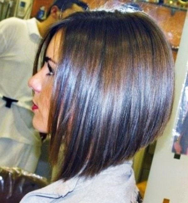 Outstanding 25 Best Long Angled Bob Hairstyles We Love Hairstylecamp Short Hairstyles Gunalazisus