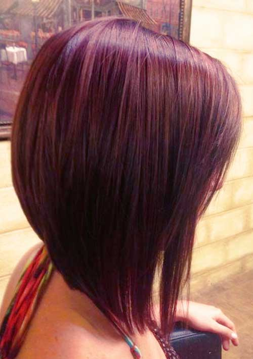 Stupendous 25 Best Long Angled Bob Hairstyles We Love Hairstylecamp Short Hairstyles Gunalazisus