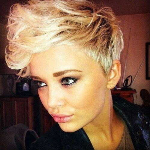 boycut hair for women