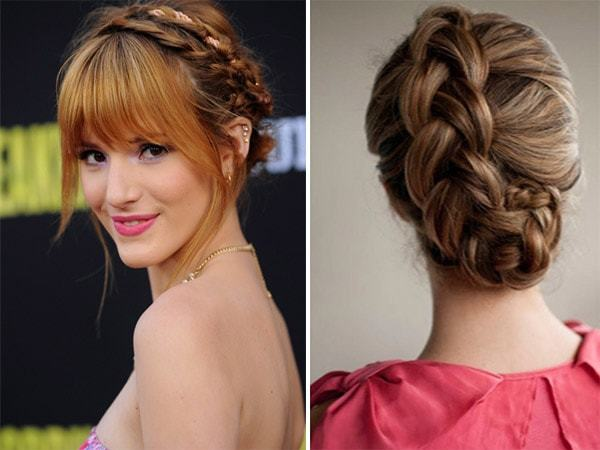 Prom Hairstyles Princess Shooting Star Braid Hairstyle Tutorial