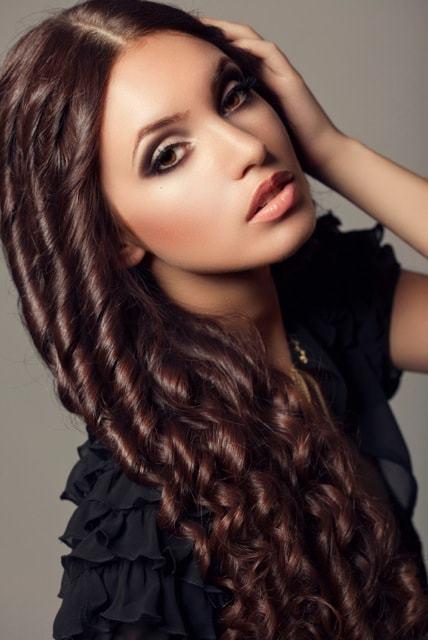 beautifu lringlet curls for women