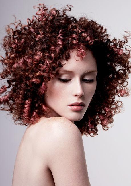 ringlet curls Browne hair