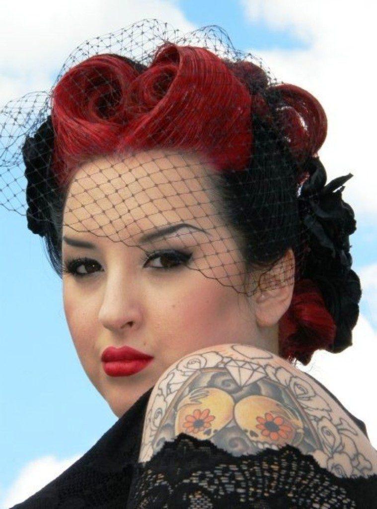 Strange 20 Wild And Impressive Rockabilly Hairstyles For Women Short Hairstyles Gunalazisus