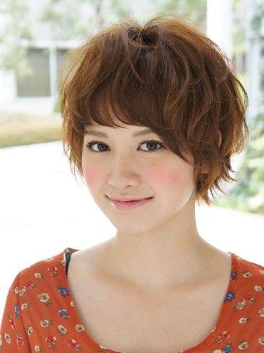 Wavy Haircut For Asian Girl