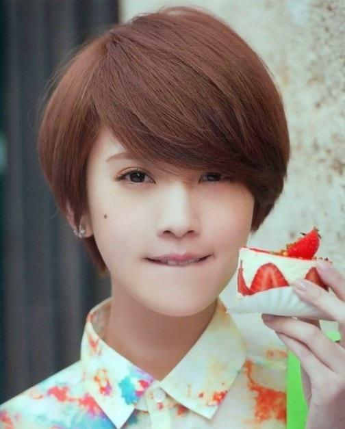 styles short hair Asian women