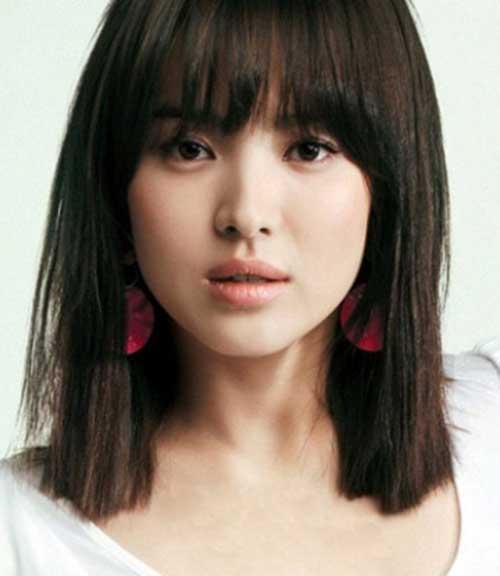 Asian Hairstyles for Girls Short Straight Hair  PoPular Haircuts