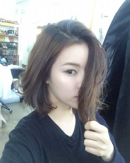 Asian Hairstyles pretty long wavy hair for asian hairstyles Short Asian Hairstyles For Women 42 Min