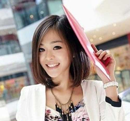 You asian hair picture style very cute