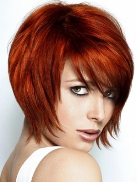 A-line bob haircut with weave hair