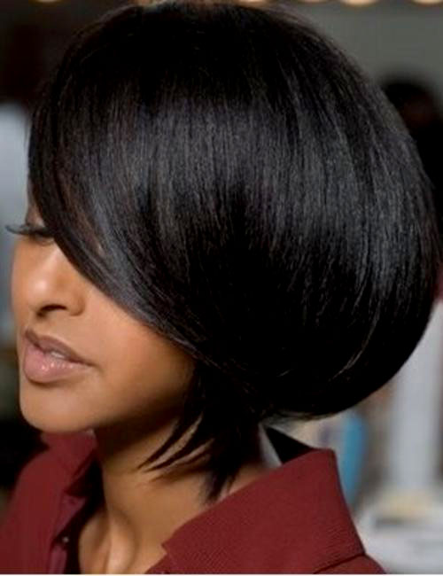 Wondrous 25 Quick And Easy Short Weave Hairstyles Hairstylecamp Short Hairstyles Gunalazisus