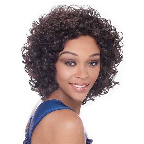 Magnificent 25 Quick And Easy Short Weave Hairstyles Hairstylecamp Short Hairstyles Gunalazisus
