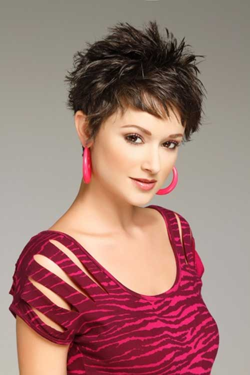 best Stylish pixie spiky haircut for cute women