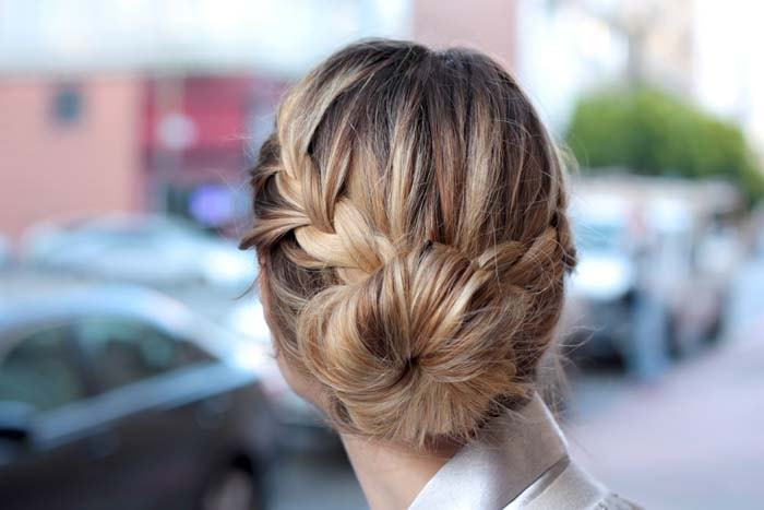 Super 12 Quick Sock Bun Hairstyles To Create Your Magnetic Image Short Hairstyles Gunalazisus