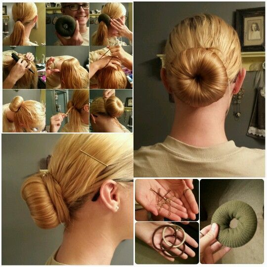 Stupendous 12 Quick Sock Bun Hairstyles To Create Your Magnetic Image Hairstyles For Women Draintrainus