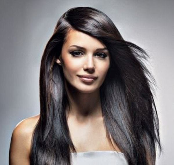 Long Straight Weave Hairstyles With Bangs - HairStyles