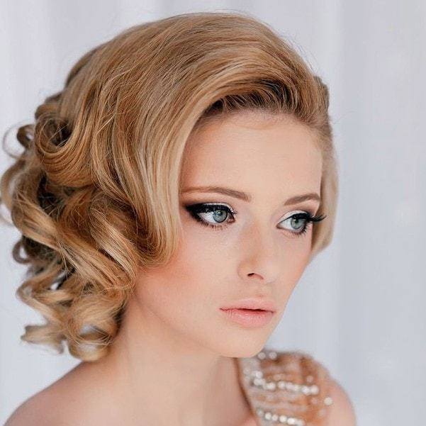 short curly wedding hair styles you love