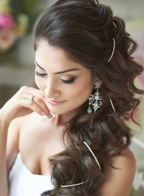 Young girl black wedding hairstyles for long hair