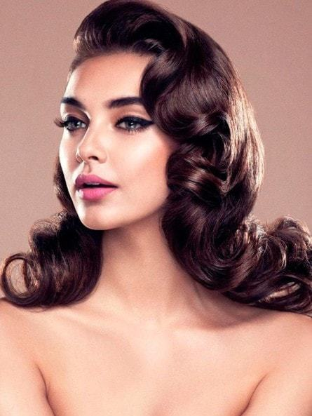 vintage wedding hairstyles for women 8-min