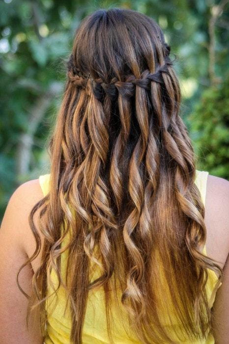 50 Cascading Waterfall Braids For Glamorous Women