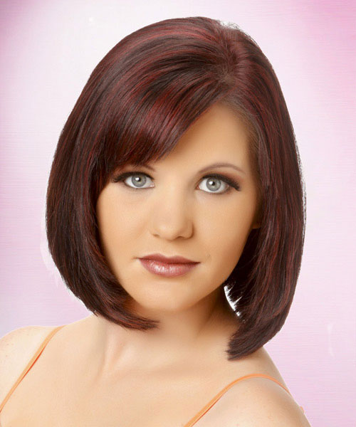 color bob wavy haircuts for women