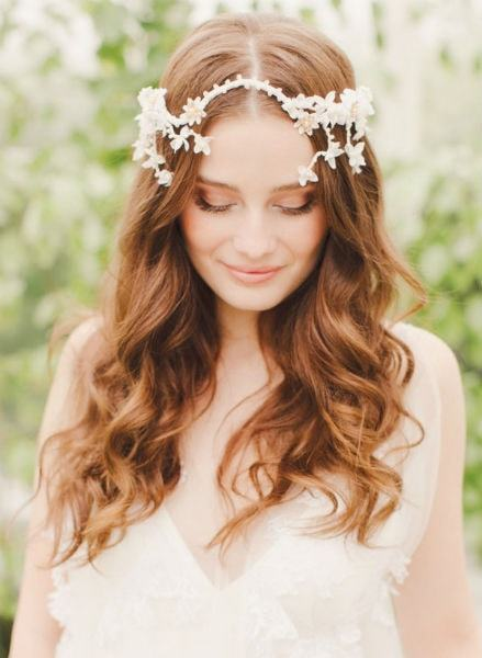 soft waves wedding hairstyles for long hair