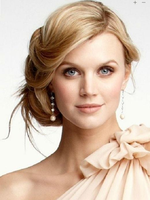 bride long hairstyle ideas