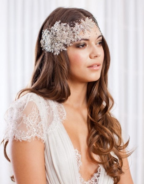Fabulous 25 Unique Wedding Hairstyles For Beautiful Brides With Long Hair Hairstyles For Women Draintrainus