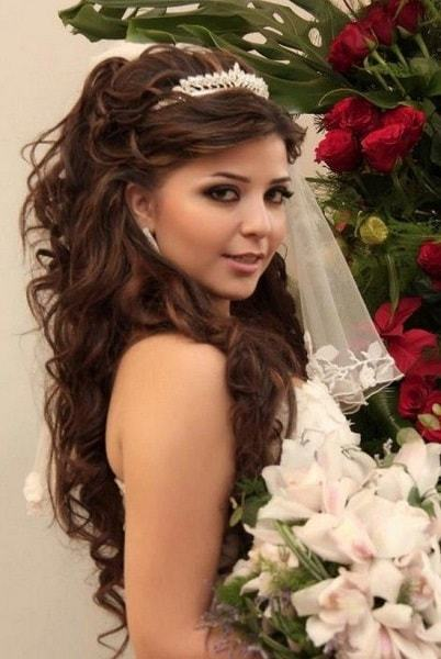 55 Ravishing Wedding Hairstyles For Long Hair Hairstylecamp