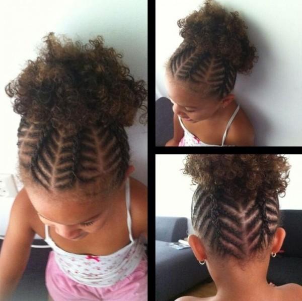 80 Angelic Hairstyles For Little Black Girls September 2018