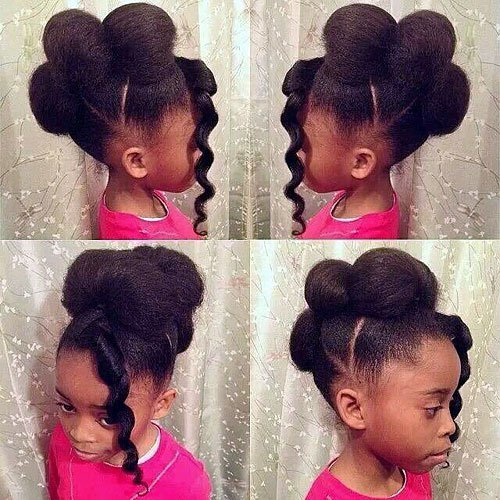 Phenomenal 101 Angelic Hairstyles For Little Black Girls April 2020 Natural Hairstyles Runnerswayorg