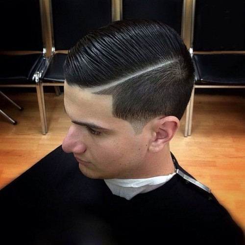 High Quality Side Part Tapers   Taper Haircut Vs Fade Haircut