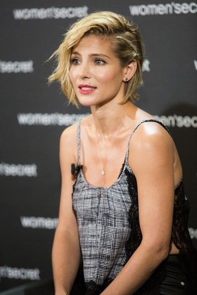 Swept-Over Style short hair for thick hair