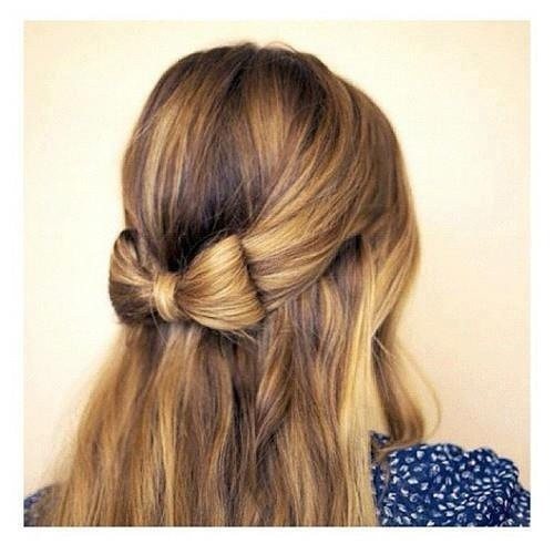 bow hair styles 20 cutest bow hairstyles for on the go hairstylecamp 3520