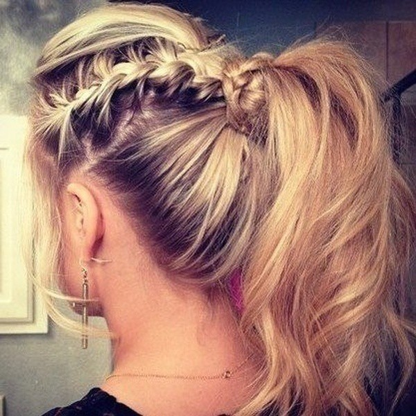 dance hairstyle for girl