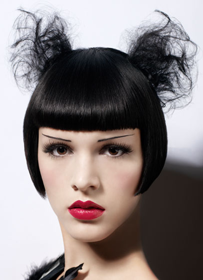 Outstanding 20 Outrageous Gothic Hairstyles Go Insane With Style Hairstyles For Women Draintrainus