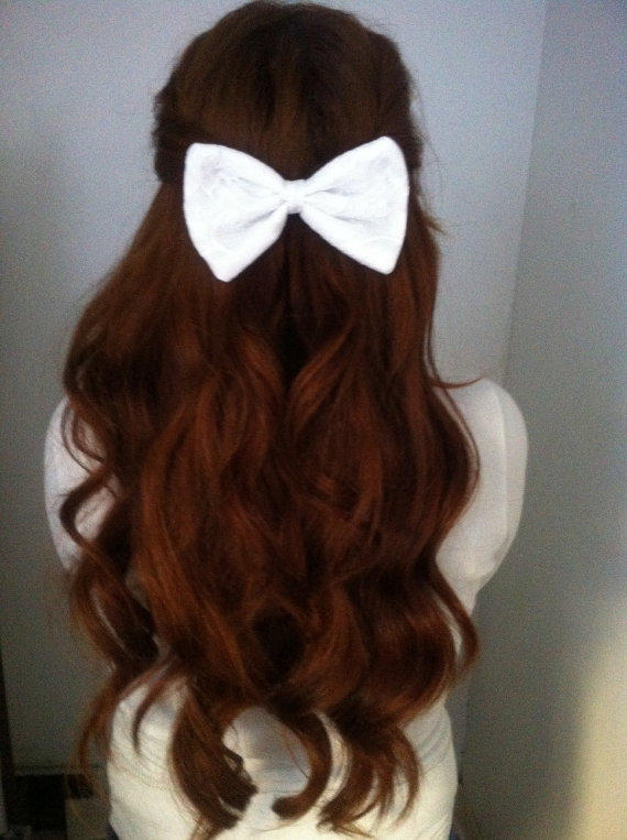 20 Cutest Bow Hairstyles For Girls On The Go Hairstylecamp