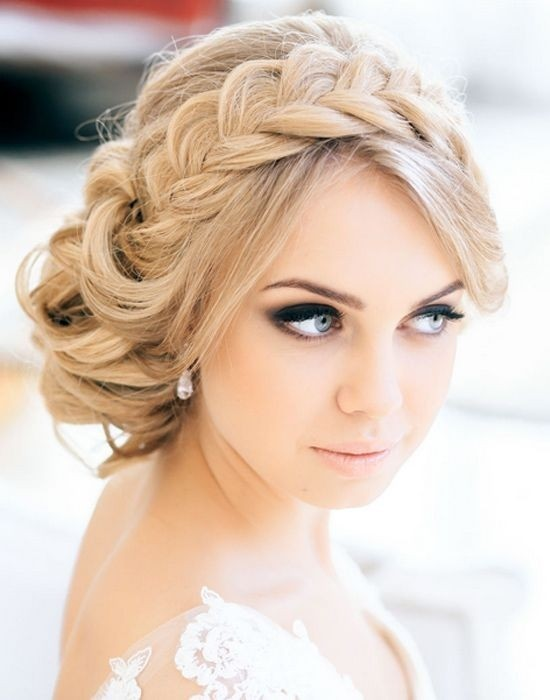 Wedding hairstyle for girl