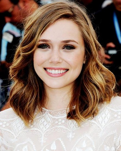 Large waves hairstyle for girl