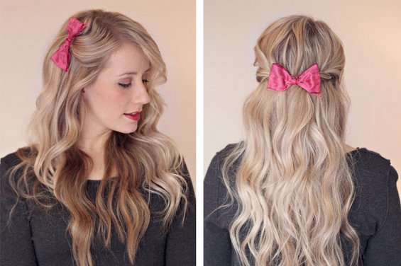 Hair Bow Styles: 20 Cutest Bow Hairstyles For Girls On The Go