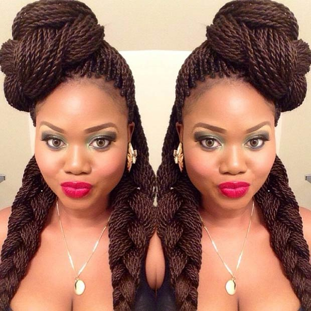 12 Best Senegalese Twist Hairstyles Forget The Rest