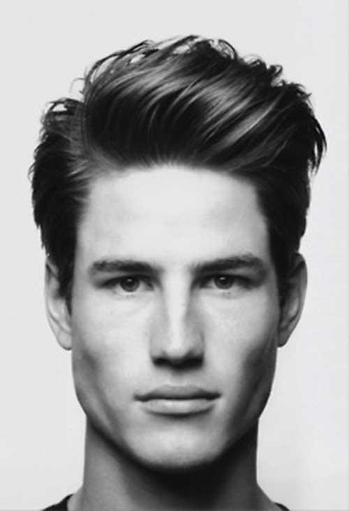 Medium Hairstyles Men medium long hairstyle men Pompadour Medium Haircut
