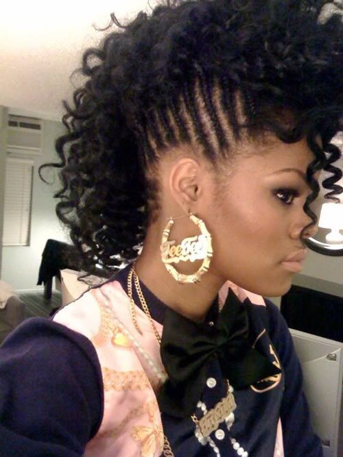 40 Fashionable Mohawk Hairstyles For Black Women 2021 Updated